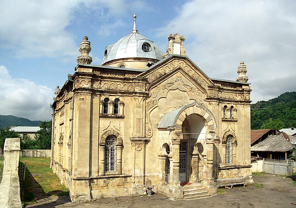 בית הכנסת המפואר באוני. פעם מחצית מהאוכלוסייה פה הייתה יהודית