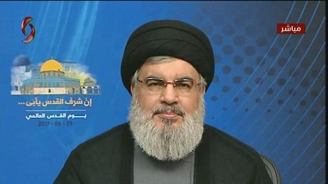 Hezbollah Secretary-General Hassan Nasrallah. Modern weapons, thousands of missiles and an improved brainwashing and propaganda system