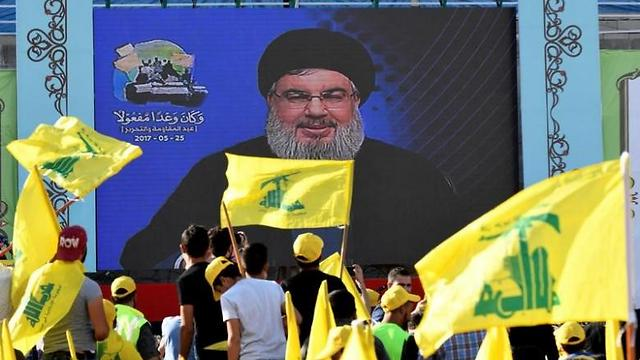 Nasrallah speaks to his supporters at an event marking Resistance and Liberation Day in Bekaa Valley, Lebanon (Photo: Reuters) (Photo: Reuters)