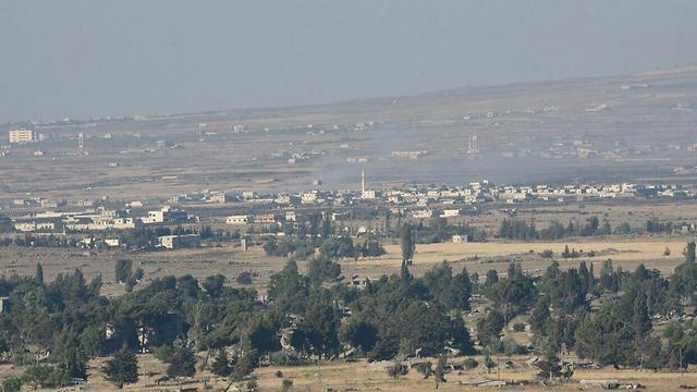 Район Кунейтры, где идут бои. Фото: Авиягу Шапира