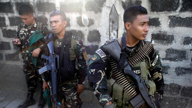 Philippine soldiers in their fight against ISIS (Photo: Reuters)