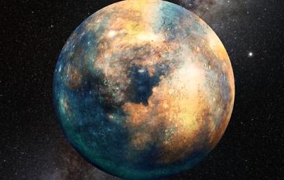 הדמיה של כוכב הלכת הנוסף (הדמיה: אוניברסיטת אריזונה) (הדמיה: אוניברסיטת אריזונה)