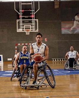 שבת. הצטיין עם 24 נקודות (צילום: באדיבות האיגוד האירופאי לכדורסל בכיסאות גלגלים)