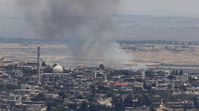 גבול ישראל - סוריה (צילום: AFP) (צילום: AFP)