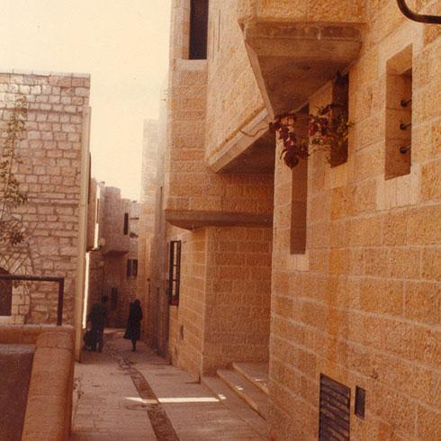 הוזמן לעבוד ברובע היהודי בירושלים (באדיבות משרד מנדל מנדל אדריכלים)