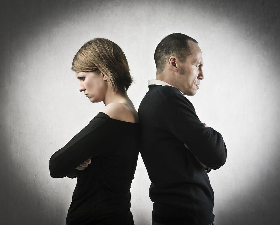 זוגיות מאמללת. יכולה להימשך שנים ארוכות (צילום: Shutterstock)