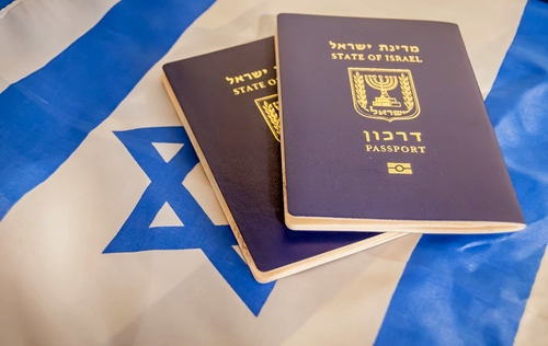 Израильский паспорт. Фото: shutterstock