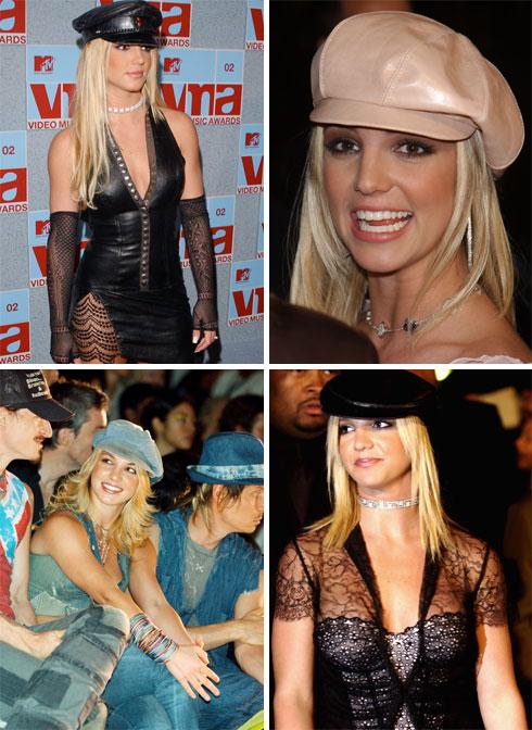 2002: לא יוצאת מהבית בלי כובע קסקט (צילום: rex, gettyimages)