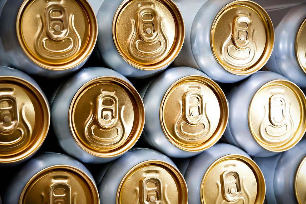 ללא סכנות. פחיות בירה (צילום: shutterstock)