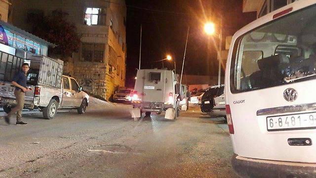 Duvdevan drives through Jabel Jawar neighborhood during shootout