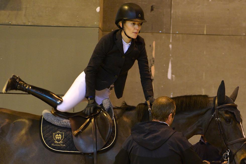 מעדיפה לבלות ברכיבה תחרותית על סוסים, ולא על שטיחים אדומים (צילום: Gettyimages)