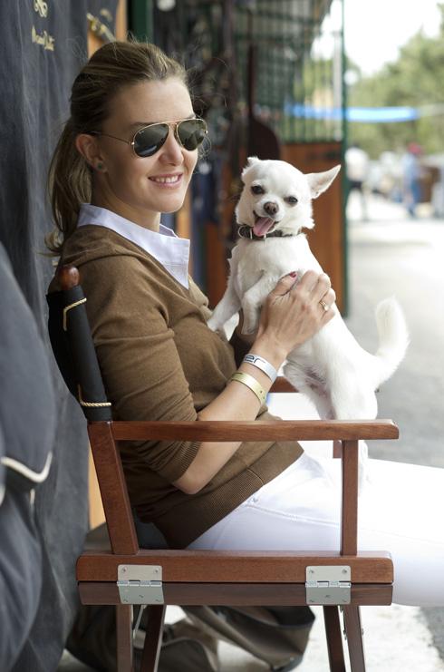 לחצו על התמונה והכירו את מרתה אורטגה, חברתה של לטיסיה מלכת ספרד (צילום: rex/asap creative)
