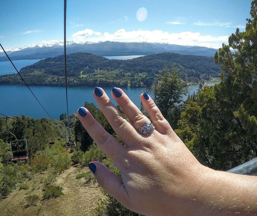ועכשיו עם הטבעת (צילום: אוסף משפחתי)