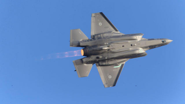 F-35 (צילום: מוטי קמחי) (צילום: מוטי קמחי)