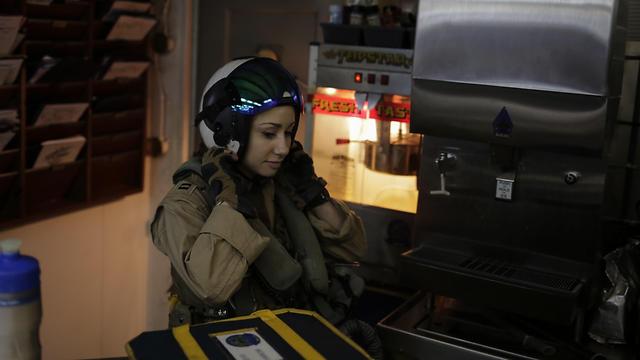 הטייסת נטשה קונקר (צילום: AP) (צילום: AP)