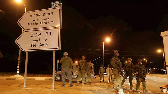 זירת הירי ב-2009 (צילום: אלכס קולומויסקי) (צילום: אלכס קולומויסקי)