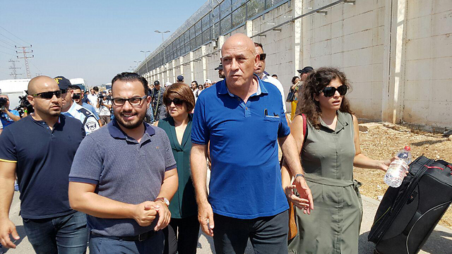 Basel Ghattas begins first day in prison