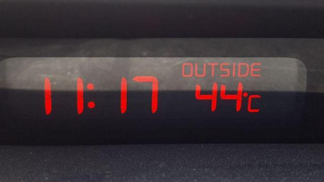 לפני הצהריים: 44 מעלות בעמק בית שאן ()