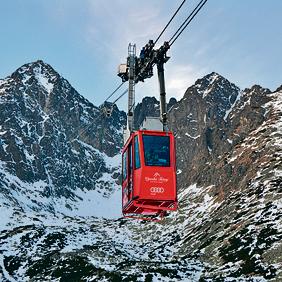 הרי הטטרה. הרכבל לפסגת לומינצקי שטיט | צילום: שאטרסטוק
