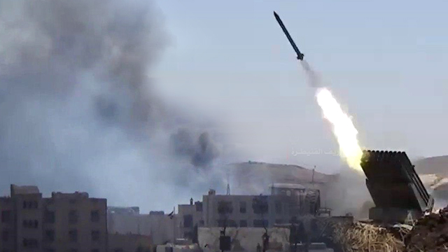 Hezbollah launches missiles at ISIS forces