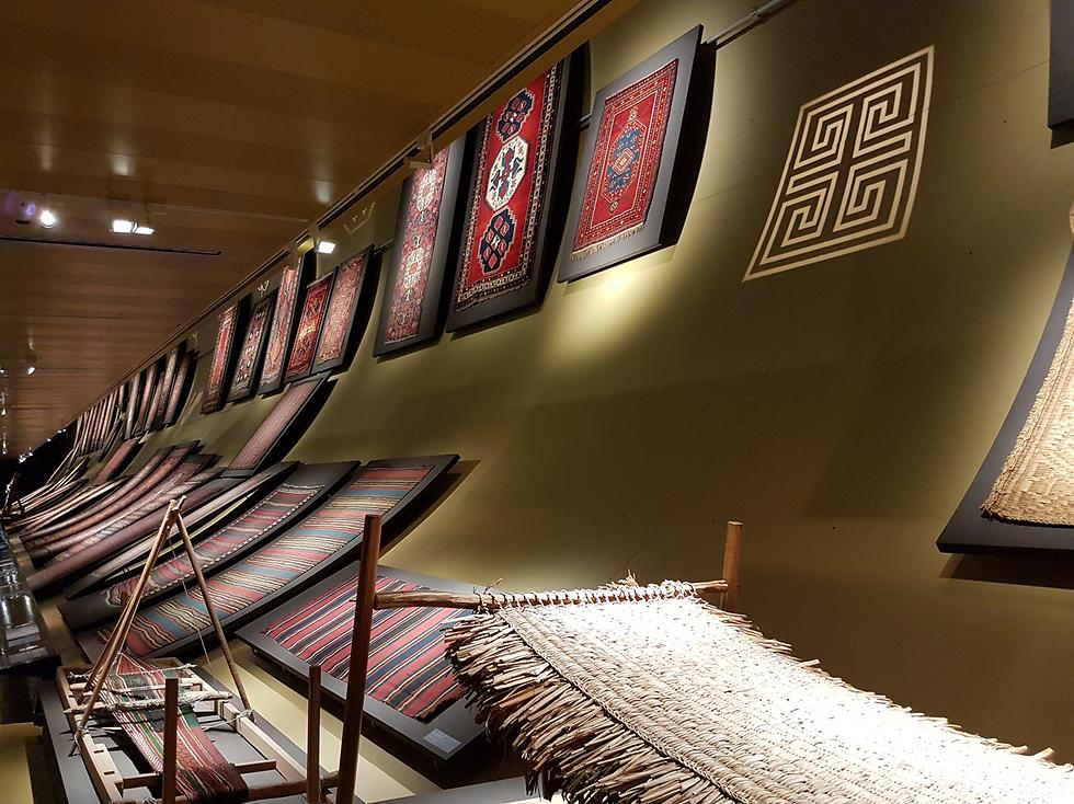 מוזיאון ראשון מסוגו בעולם לחוף הים הכספי (צילום: רועי סמיוני) (צילום: רועי סמיוני)