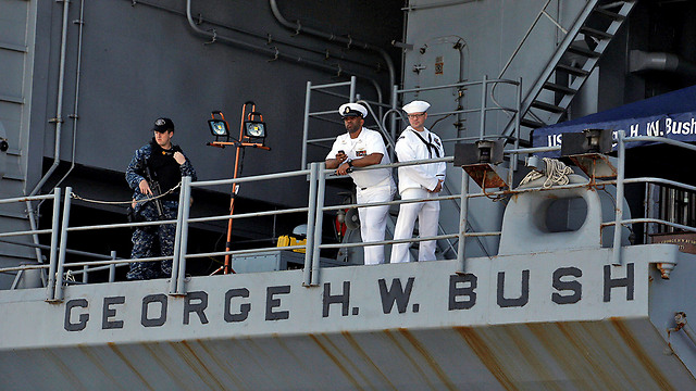 The USS George H. W. Bush (Photo: Reuters)