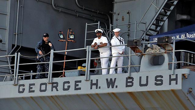 The USS George H. W. Bush (Photo: Reuters)