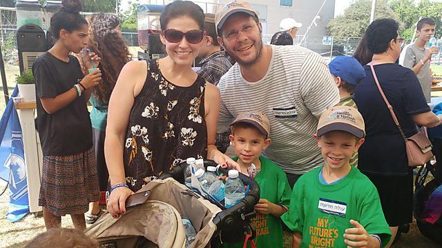 The Berg family (Photo: Doron Cooperstein)