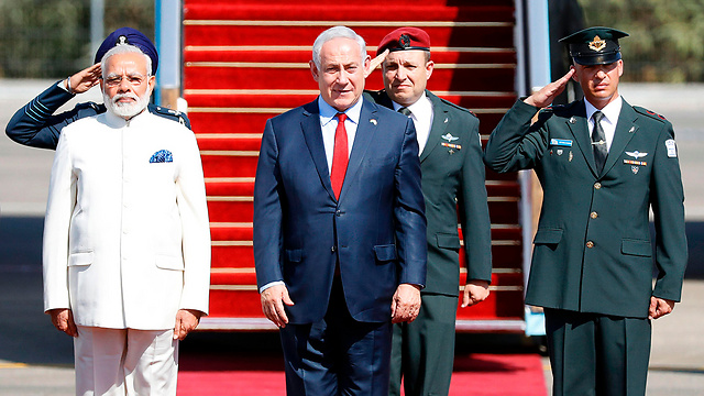 PM Modi and PM Netanyahu (Photo: AFP)