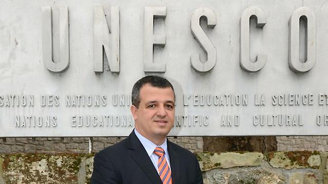 Israel's Ambassador to UNESCO Carmel Shama-Hacohen