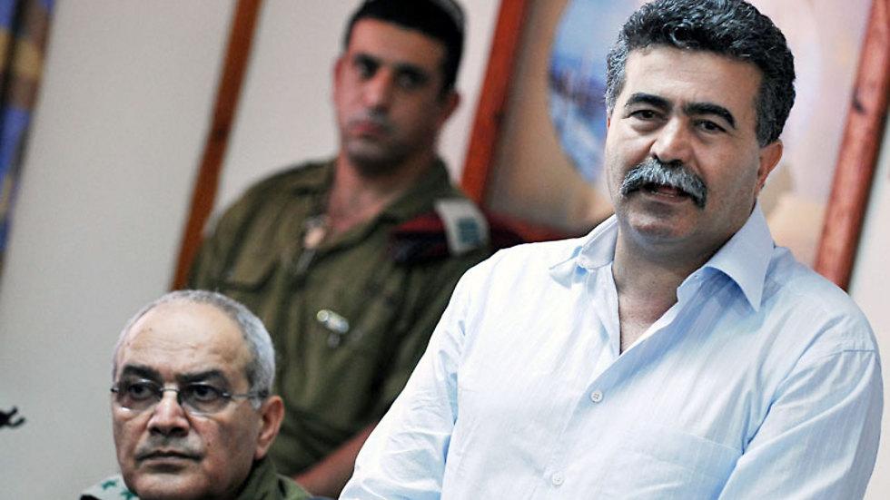 עמיר פרץ כשר הביטחון במלחמת לבנון השנייה (צילום: אמיר כהן) (צילום: אמיר כהן)