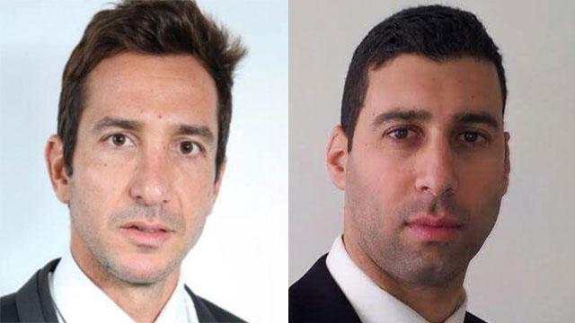 עורכי הדין אלעד פלד וחופן שטרייכר ()