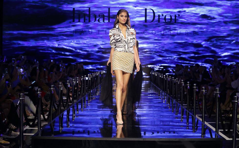 תצוגת האופנה של ענבל דרור פותחת את אירועי היום השני של ביוטי סיטי (צילום: אבי ולדמן)