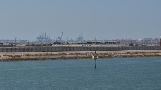 """פורט סעיד, לחוף הים התיכון בפתח הצפוני של התעלה. מכאן יצאו הסטי""""לים של המצרים שהטביעו את המשחתת """"אילת"""" (צילום: אלי מנדלבאום)"""