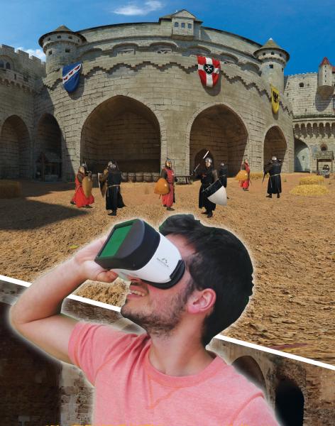 מציאות מדומה שיחזירו אתכם לימי הביניים (צילום: אוצרות הגליל)