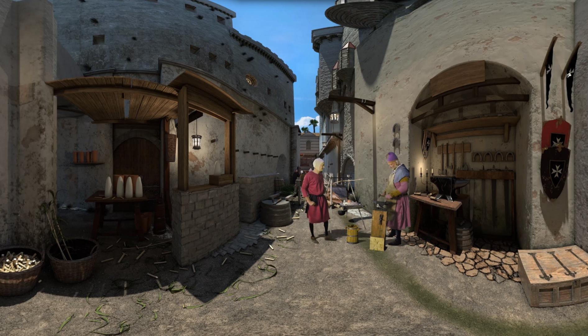 """מסרו ד""""ש אבירי: מפגש עם אבירים מימי הביניים (צילום: אוצרות הגליל)"""
