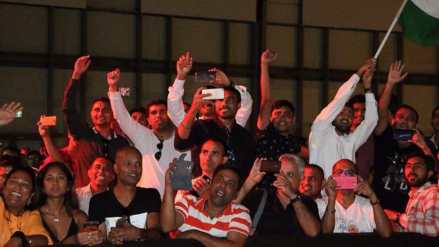 אלפים בקהל (צילום: מוטי קמחי) (צילום: מוטי קמחי)