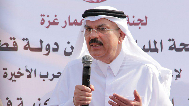 Qatari envoy to Gaza Mohammed al-Emadi