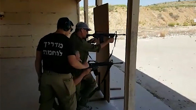 Settlement patrols training in IDF bases (Photo: Roee Idan)