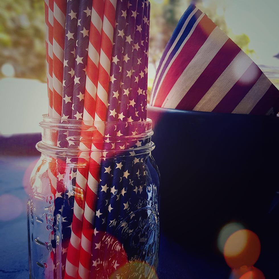 לחגוג את החזרה לארץ. עצמאות שמח USA ()