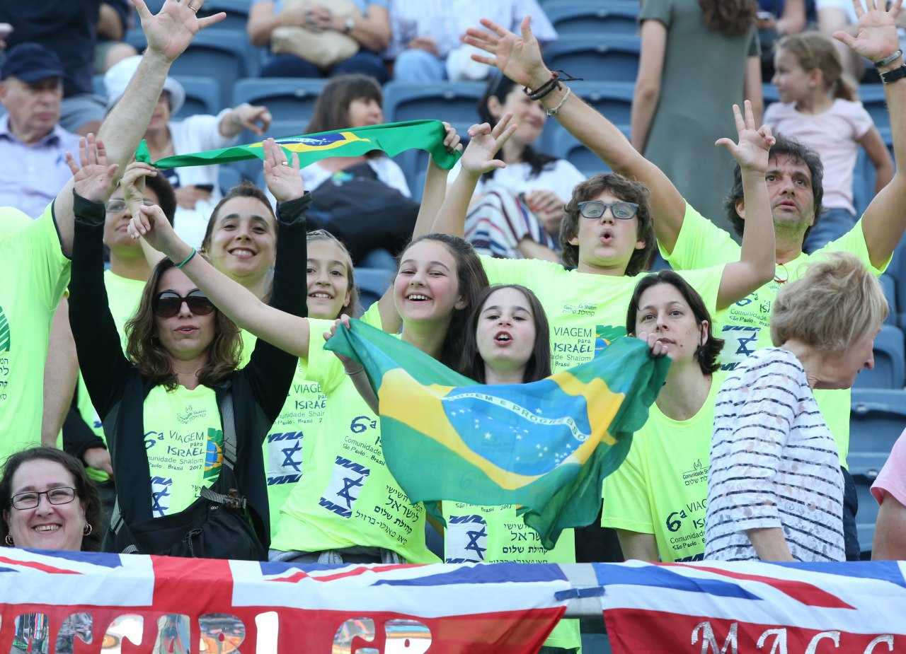 Brazil supporters (Photo: Oren Aharoni)