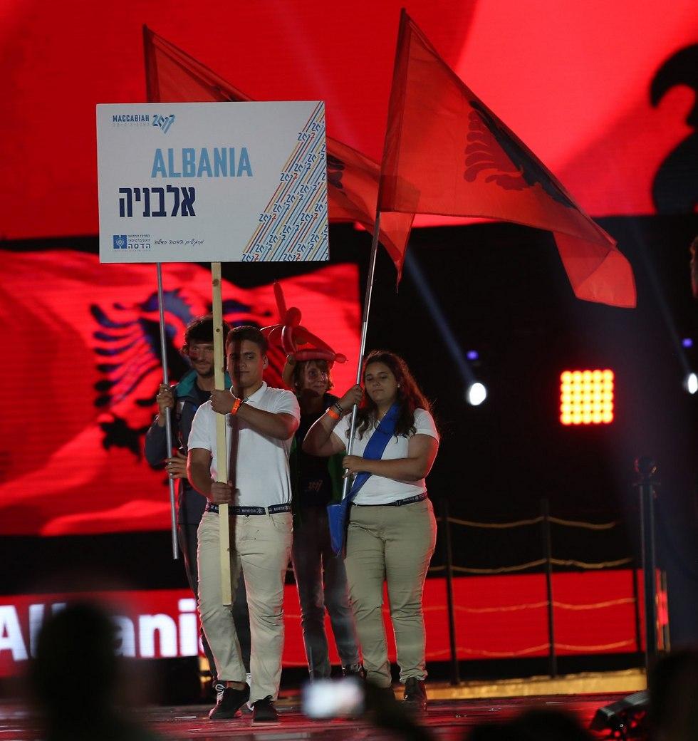 גם אלבניה כאן (צילום: אורן אהרוני)