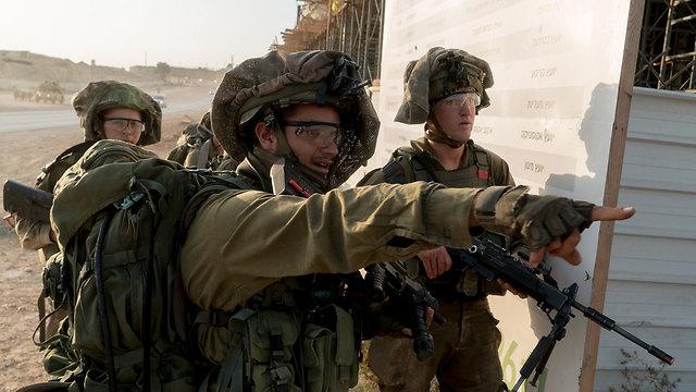 Nahal Brigade training exercise (Photo: IDF Spokesperson's Unit)