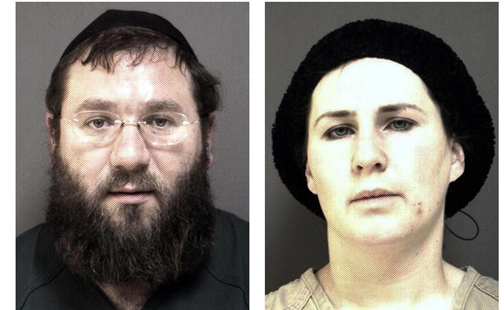 Two of the main suspects, Rabbi Zalmen Sorotzkin and wife Tzipporah (Photo: AP)