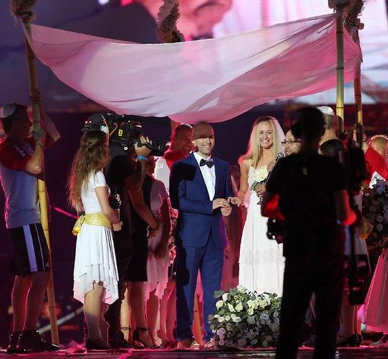 טקס הפתיחה מציג: חתונה בשידור חי (צילום: אורן אהרוני)
