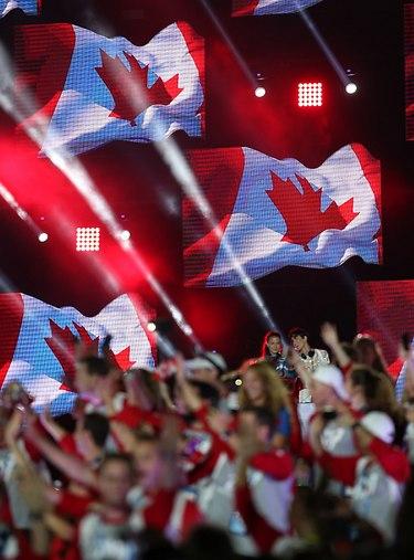 המשלחת הקנדית נכנסת (צילום: אורן אהרוני)
