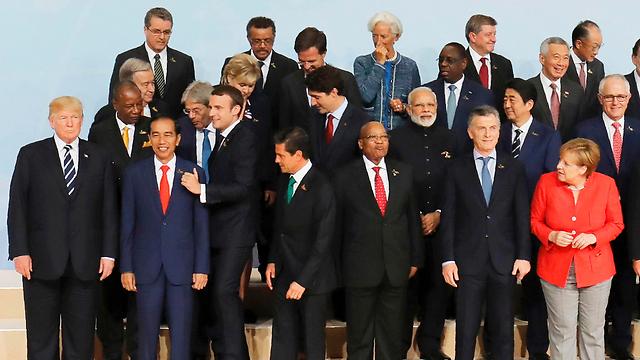 מנהיגי מדינות ה-G-20 (צילום: AFP)