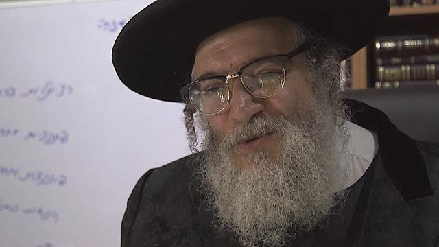 Sect leader Rabbi Shlomo Helbrans