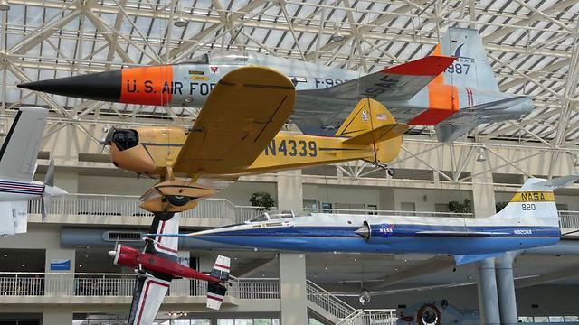 מוזיאון התעופה (צילום: דני שדה)