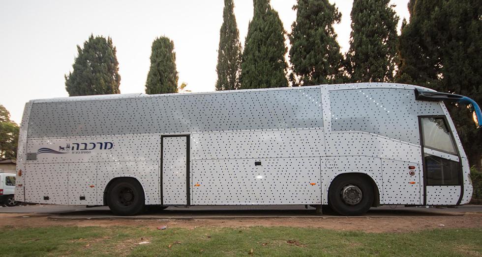 אוטובוס המוזיאון (צילום: דוברות עיריית פתח תקוה)
